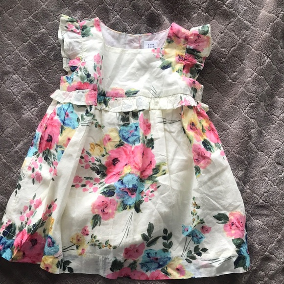 Baby Gap floral dress with bloomers